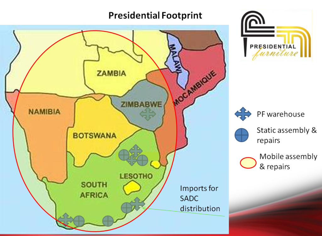 Home Assembly footprint